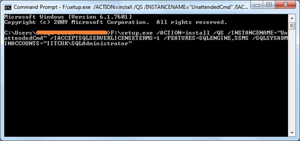 Performing Unattended Installs of SQL Server 2012   Basit's SQL