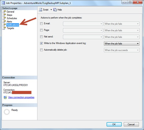 How to find SQL Agent Jobs without Notification Operator